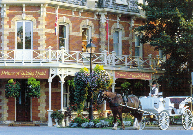 Prince of Wales Hotel - Niagara on the Lake